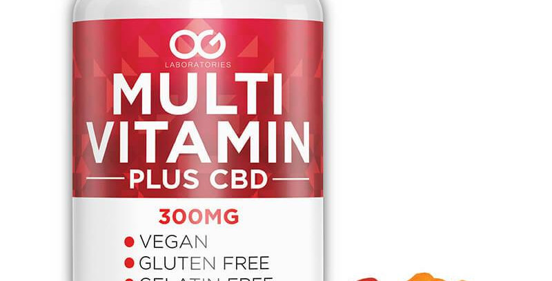 OG Labs - CBD Edible - Multi Vitamin Gummies - 60pc-5mg