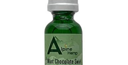 Alpine Hemp - CBD Vape - Mint Chocolate Swirl - 100mg-300mg