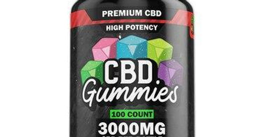 Hemp Bombs - CBD Edible - High Potency Gummies - 240mg-3000mg