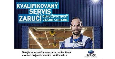 Autorizovaný servis vozidiel Subaru