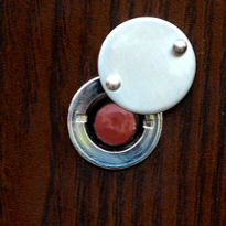 Bezpečnostné dvere SOFIA panoramatické kukátko