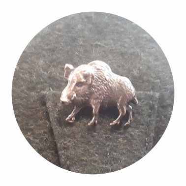 Poľovnícky odznak - diviak