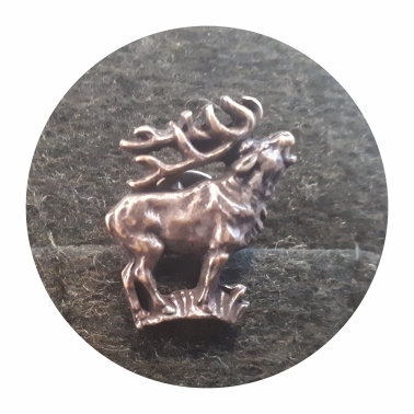 Poľovnícky odznak - ručiaci jeleň 2
