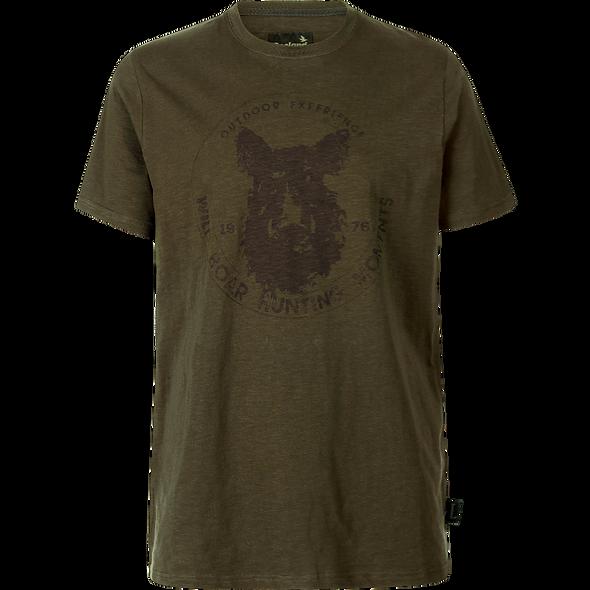 Seeland tričko FLINT Dark olive