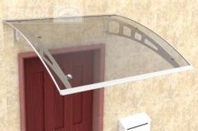 Hliníková strieška nad dvere