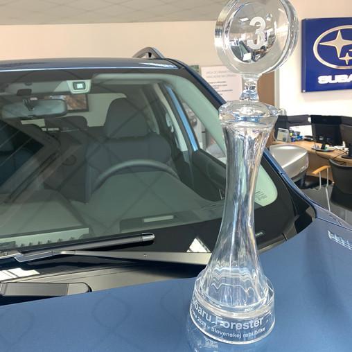 SUBARU FORESTER úspešne bodoval v ankete Auto roka 2020 v SR a získal 3. miesto