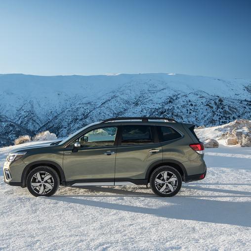Nový model Subaru Forester e-BOXER Ocenený Euro NCAP ako najlepšie auto triedy za rok 2019