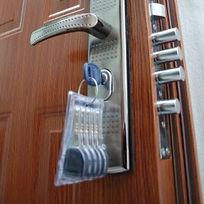 klúče k bezpečnostným dverám