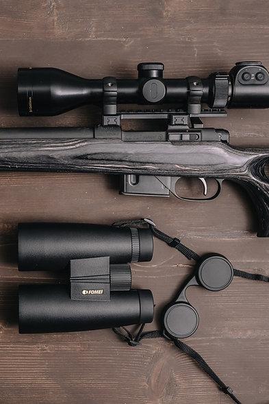 FOMEI 10x52 FOREMAN + 3-12x50 FOREMAN G4, ďalekohľad + puškohľad