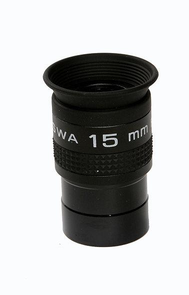 SWA-15, Wide okulár 700 /15mm (31,7mm-1,1/4inch), FOMEI