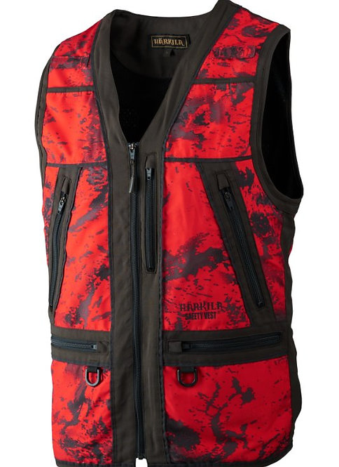 Härkila Lynx Safety vesta červená