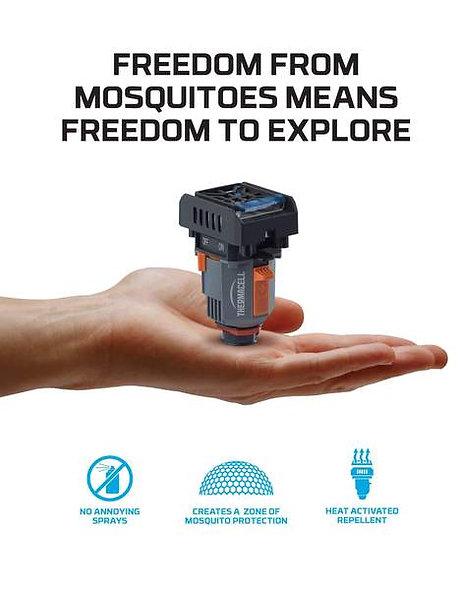 Kempingový odpudzovač komárov
