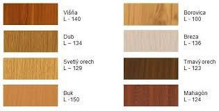 Dekor farieb zhrňovacie lamelové dvere