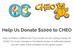 Help us Donate $1000 to CHEO