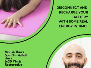 Yoga Classes with Mark Laham