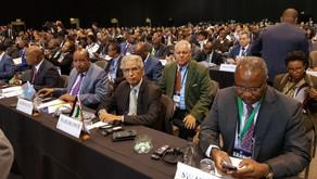 Sahrawi Republic participates in the Japan-Africa Public Private Economic Forum in South Africa