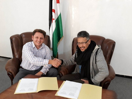POLISARIO Front signs mineral exploration agreement with Australian Resources Limited