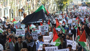 1000s of demonstrators in Madrid call on Spanish government to be held  responsible for WS conflict