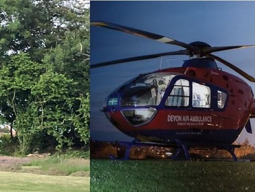 Air Ambulance Night Landing Site Goes Live