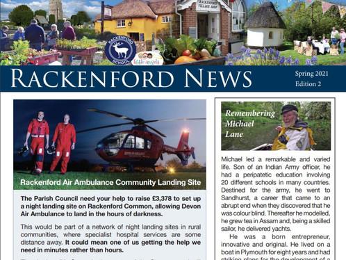 Rackenford News: Spring 2021