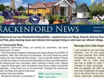 Read the Latest Copy of Rackenford News