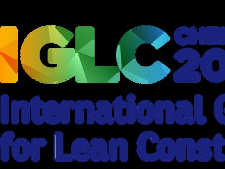 Climb tem 4 trabalhos publicados no 26th International Group for Lean Construction