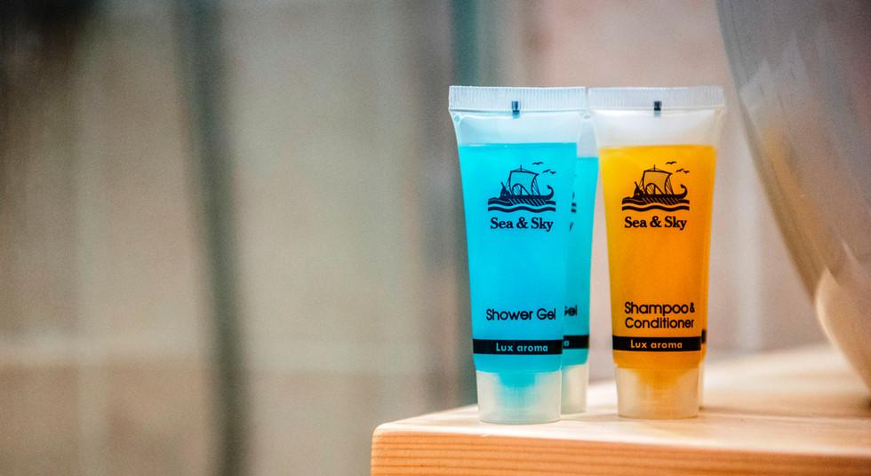 Free shampoo