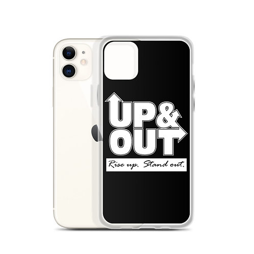Up & Out | Rise Up Stand Out iPhone Case