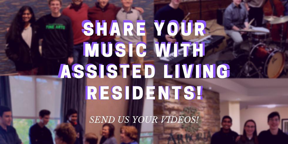 Virtual Volunteer Music Performance