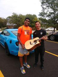 Guitar donation from Erik Yamane
