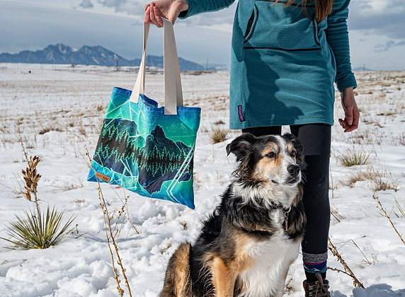 Dirt Chalk Bags x Paint the Wild Tote Bags