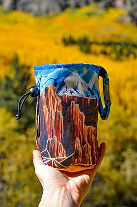 Fisher Towers Chalk Bag (Dirt Chalk Bags x Paint the Wild Collab)