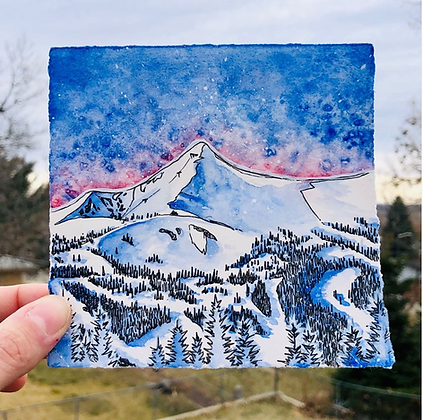Breckenridge Watercolor