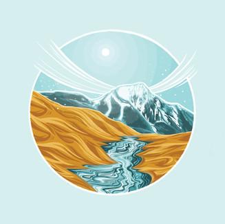 Sand Dune Illustration