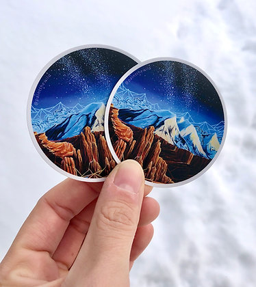 Fisher Towers Sticker