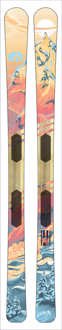 Winter Solstice Ski Design