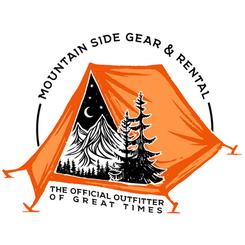 Mountain Side Gear Rental Shirt Logo