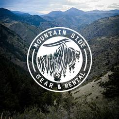 Mountain Side Gear Rental Logo
