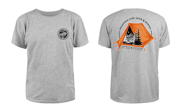 Mountain Side Gear Rental Staff Shirt