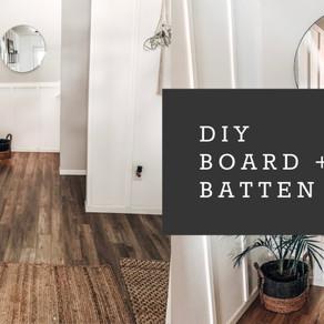 DIY Board + Batten | Entry Makeover