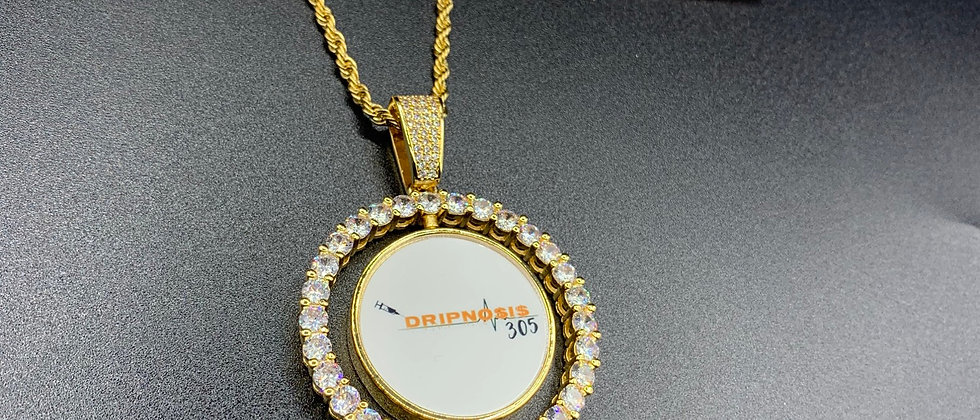 Double Sided Picture Pendant