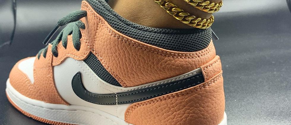 Simple Cuban Anklet