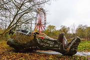 Abandoned Berlin Spreepark Amusement Fun