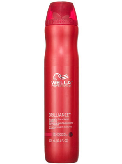 Wella Brilliance Shampoo Fine and Normal Hair