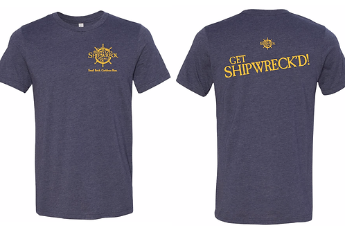 Shipwreck Midnight Navy Blue T-shirt