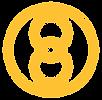 Universal Healing Icon in Circle_Yellow.