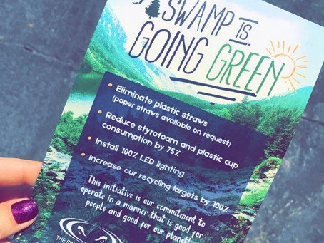 #UNLITTER Swamp Restaurant