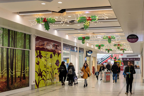 Lexicon Shopping Centre Holly Leaves