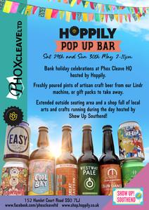 Hoppily & Phox Cleave Pop Up Bar