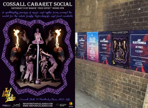 The Purple Ladies poster design